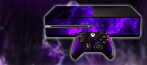 skin wrapper for gaming consoles