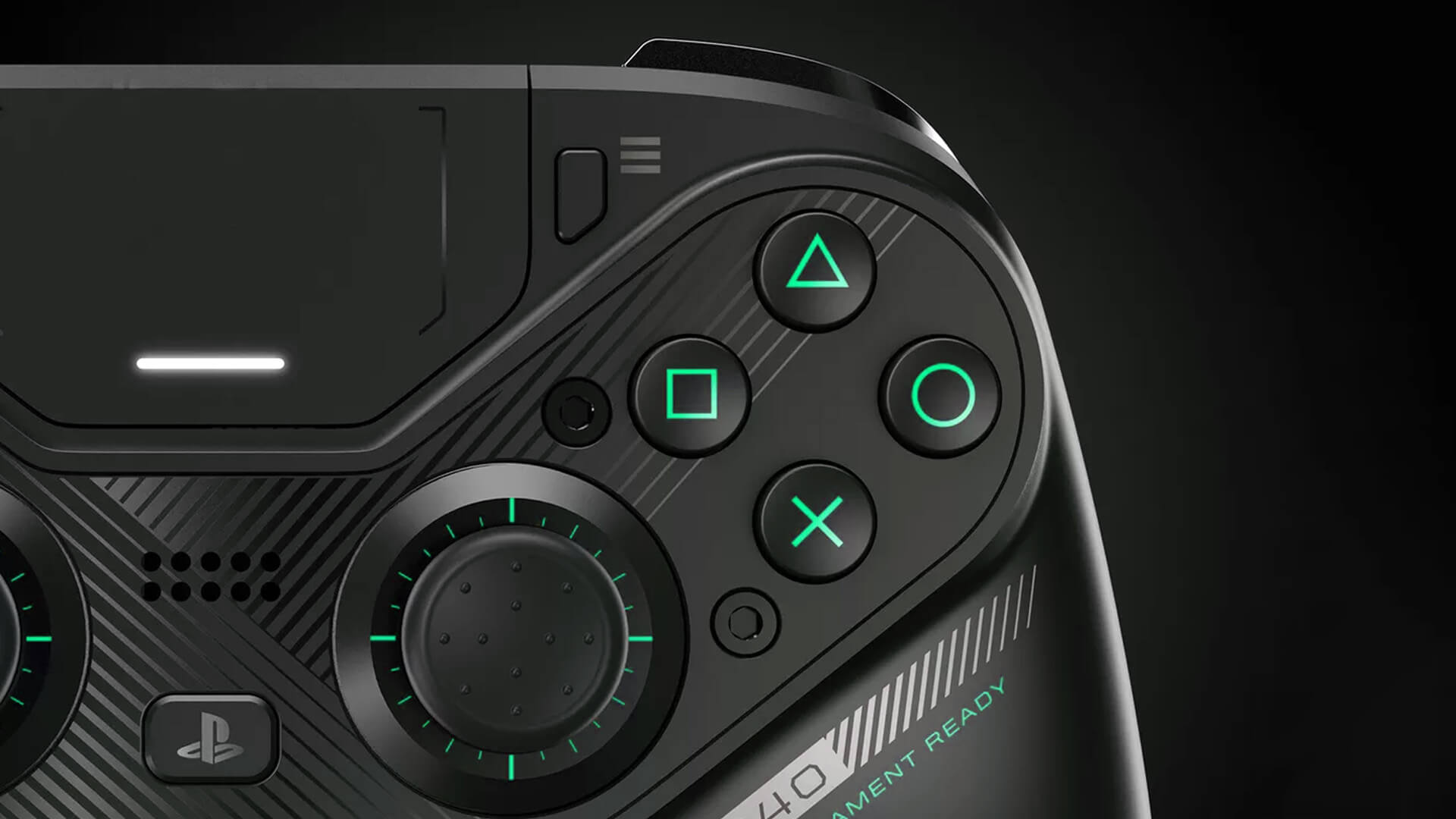 PS4 controller with back buttons