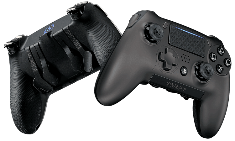 custom built Playstation 4 controller with rapid-fire mods