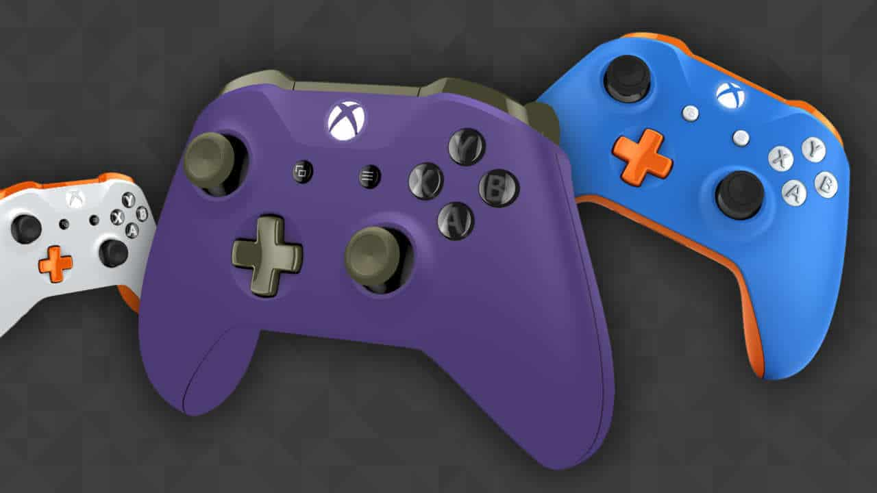 custom built and designed xbox controller