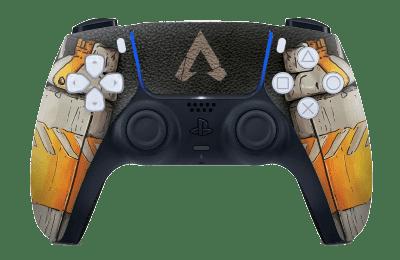 Apex Legends bangalore orange PS5 controller