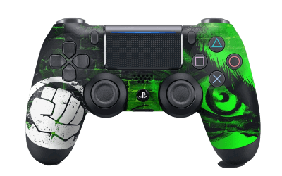 Avengers Hulk PS4 Controller
