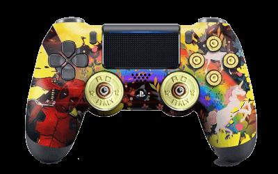 Deadpool PS4 Controller