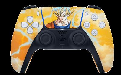 Dragonball Z Goku PS5 controller