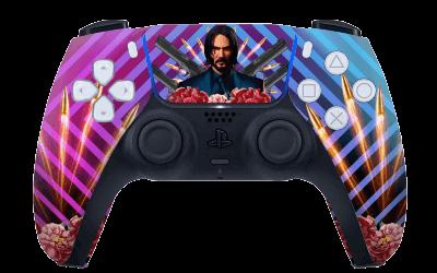 John Wick PS5 controller