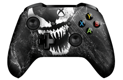 venom xbox controller in black