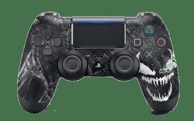 Venom black PS4 controller