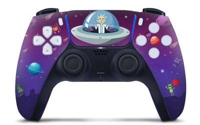 rick and morty PS5 controller