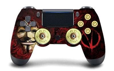 V for Vendetta PS4 controller gamepad